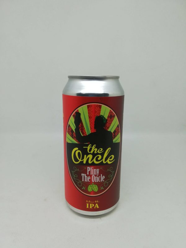 cerveza artesana pliny the oncle
